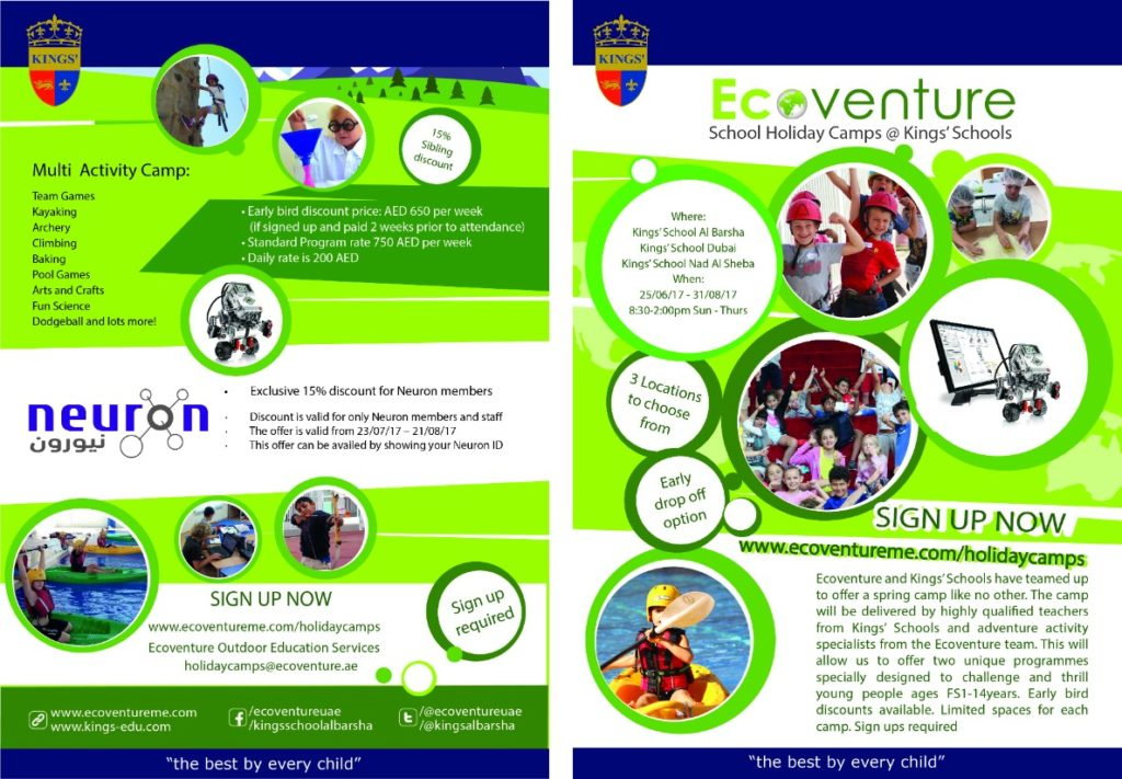 Ecoventure Summer camp for kids