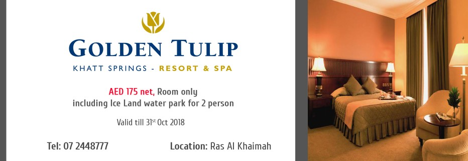 Golden Tulip Khatt Springs Resort & Spa Ras Al Khaimah